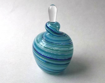 Medium Perfume Bottle - Assorted Blue : DISASTER RELIEF