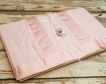 NOS Pink Sheet Full Queen Mollye Lilienfeld New York