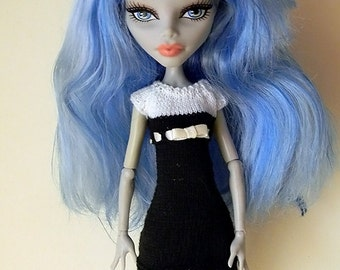 Dress for Monster High doll (free shipping).