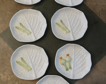 Made in Italy Vegetable Canape Plates