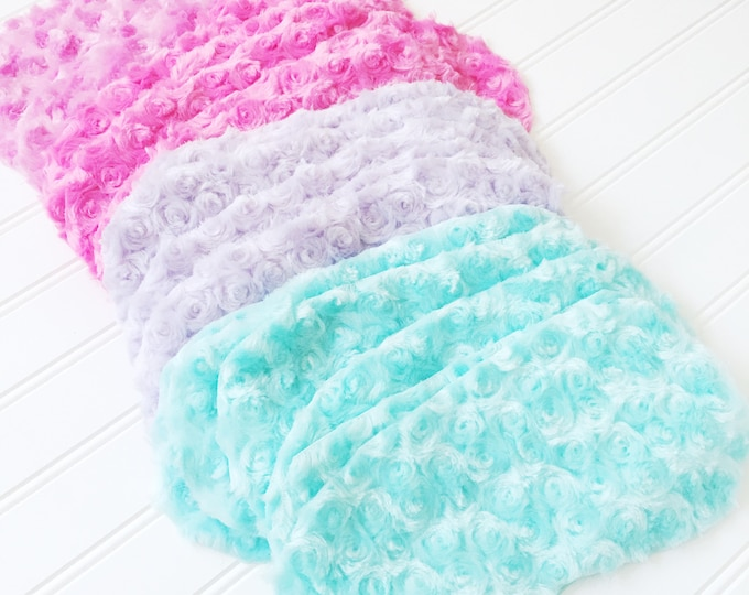 Pastel Eyemasks Spa mask, I'm furry soft minky fabric