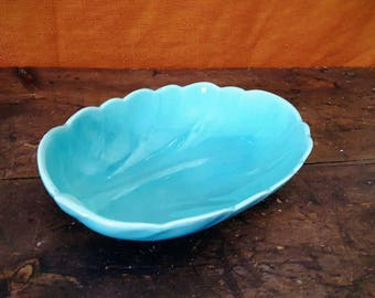 1950's Cabbage Leaf Serving Platter