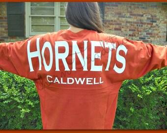 Spirit T shirt - Football custom jersey - GameDay Billboard Jersey - School Team Spirit shirt