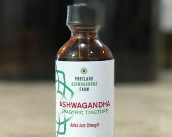 Fresh Ashwagandha Spagyric Tincture