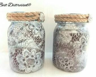 Jars, pair of jars, set of jars, two jars, storage jars, bathroom jars, bathroom jars, bedroom jars, office jars, decorative jars, gift,