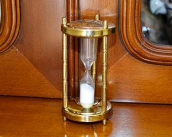 small damascene hourglass, damascene, damascene decoration, hourglass, vintage decoration, mother gift