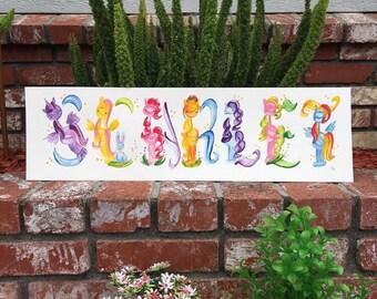 Meine kleine Einhorn, Pferd, Pony, Pferdesport, magische Name Malerei - Bestelloptionen