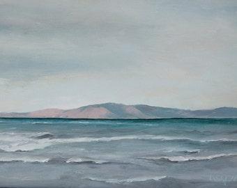 Art card print- Lake Winds-   by Lauriann Wakefield  of Bear Lake