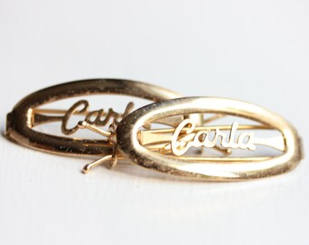 Vintage Hair Clip - Carla