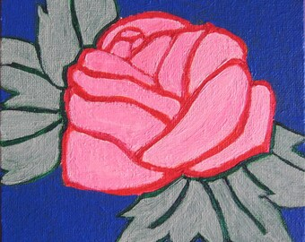 A Rose is a Rose Original Painting