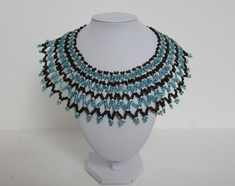 African Beaded Collar Necklace