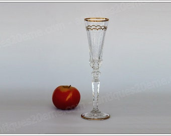 French crystal St Louis Excellence champagne flute