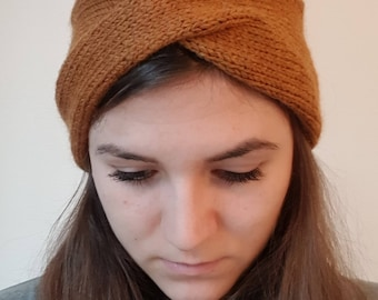 Headband made of pure virgin wool