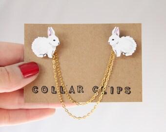 Collar Clips: Bunnies