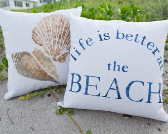 The Beach - pillow cover