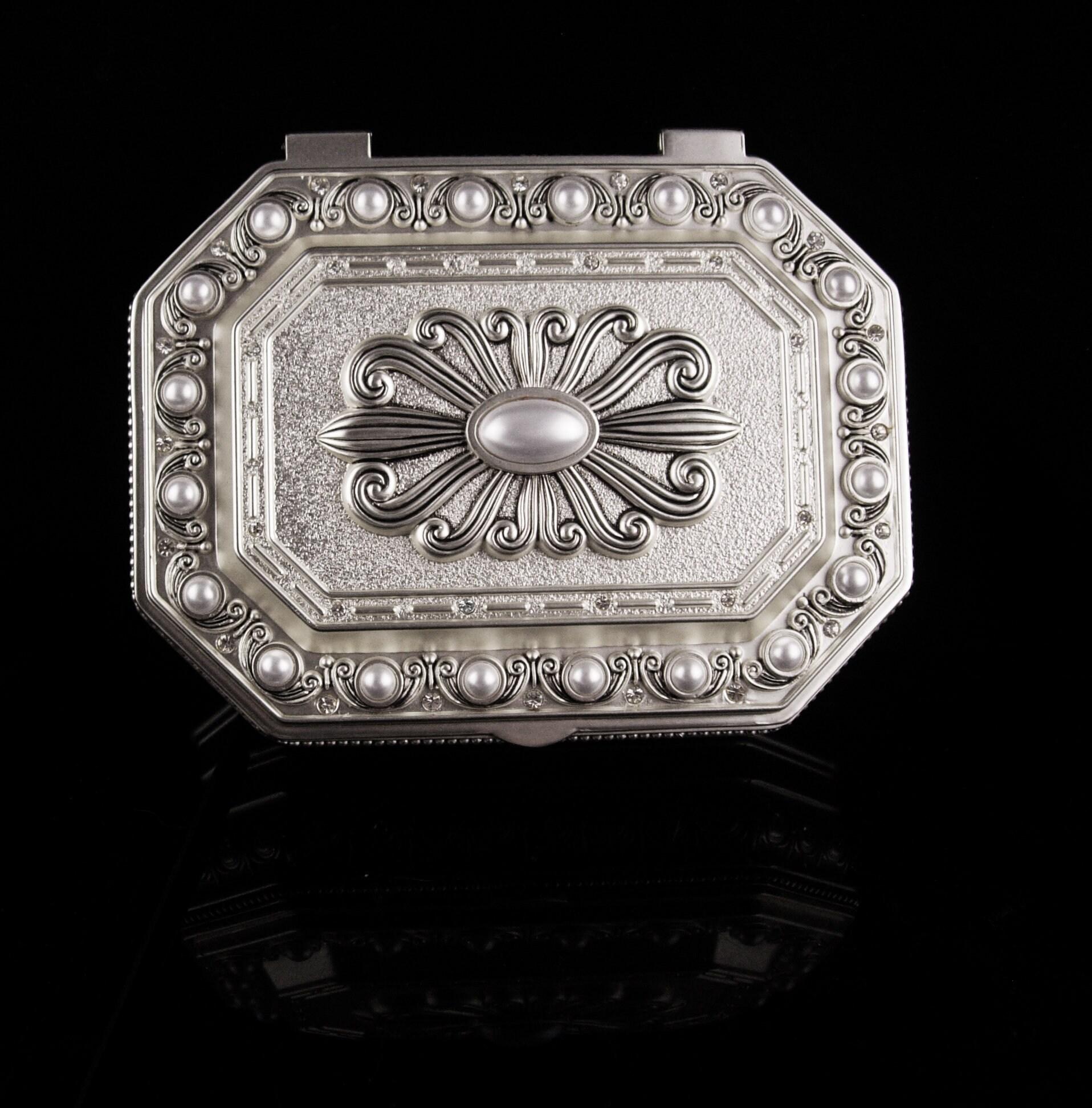Wedding Jewelry Casket Large Victorian Style Box Vintage