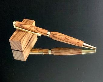 Handmade Genuine Bethlehem Olive Wood Pen