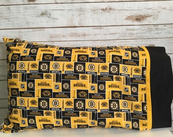 Boston Bruins pillow case