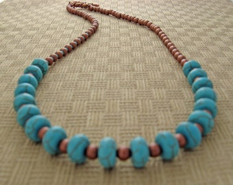 Turquoise and Copper Fun