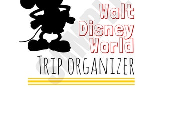 The Ultimate Walt Disney World Trip Planner Printable--Instant Download!