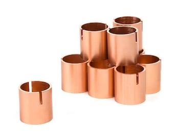Set of 10 - Table Number holder - Place Card Holders Place Card Holder - Rose Gold - Photo Holder Table Number Stands Holder Copper