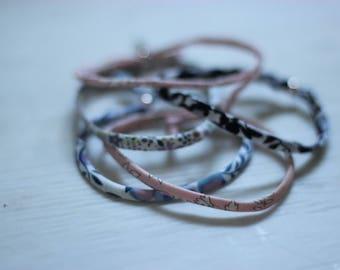 Liberty of London Fabric Bracelet (no charm)