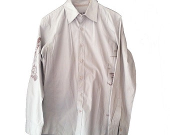 White Owl Clothing Company Long Sleeve Buttonup Small