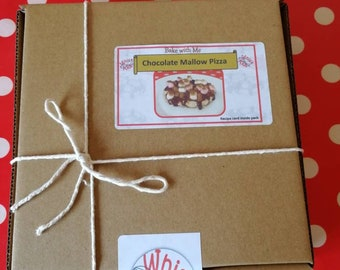 Whisk Kids Chocolate and Mallow Pizza Baking Kit