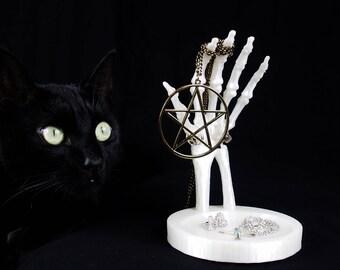 Skeleton Hand Jewellery Stand