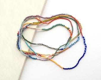 May Seed Bead Necklace
