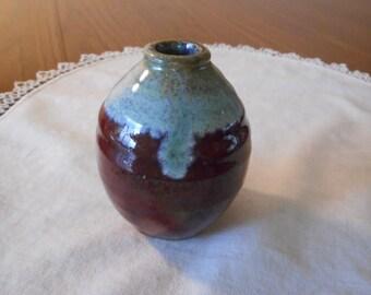 Handmade Stoneware Mini Vase or Diffuser