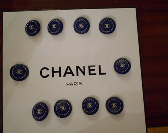 Authentic Chanel Buttons