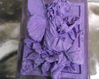fairy jewellery box, lilac purple hippy goth storage