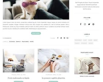 Blogger Template, Blogger Theme, Template Responsive, Minimal, Simple, Grid, Slider, Design, Blogspot - LIVE: www.bit.ly/ChantelleClassic