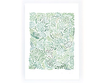 Leaf Pattern - archival art print