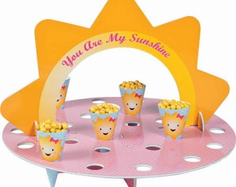 My Ray of Sunshine Treat Holder/cupcake holder / centerpiece stand / You are My Sunshine