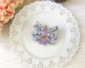 Liberty of London Fabric Bow in Hedgerow