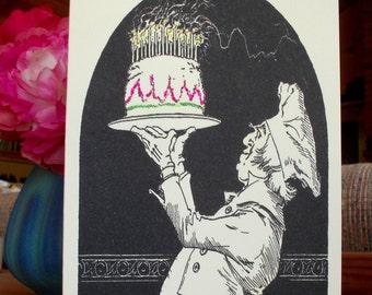 Birthday Baker Card