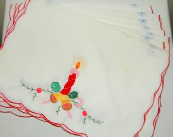 SALE Holiday Placemats