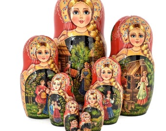 Matryoshka Summer Festivals 10 places