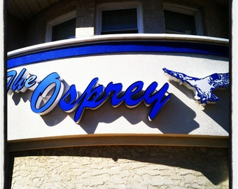 Shore: Osprey (Manasquan) Tile Coaster