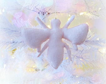 Sale - IN STOCK- Blush Pink Bee Wasp Bug Hanging decoration ornament Christmas