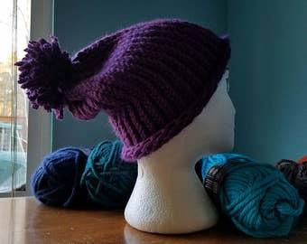 Hipster Crochet Beanie