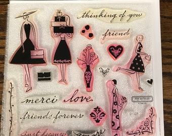 D1327 Just Because   - CTMH My Acrylix Stamp Sets