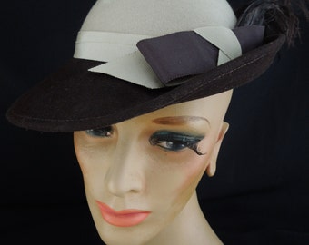 1970/80's Two Tone Hat