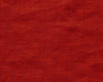 Red linen 280 g/m2