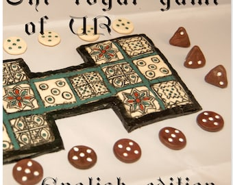 Royal Game of Ur (board game English edition)