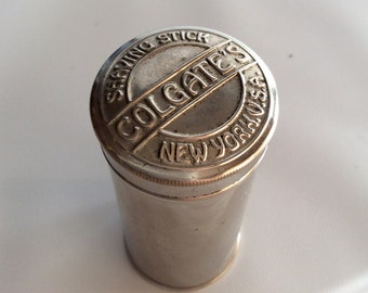 Colgates Shaving Stick Tin
