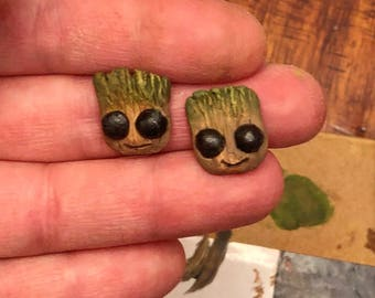 Baby Groot Earrings