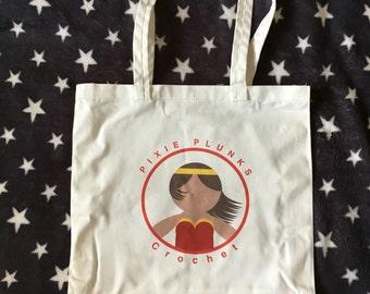 Wonder Woman style tote bag